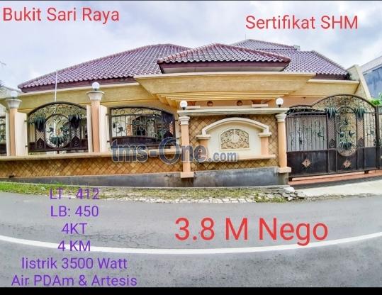 Rumah LB 450 SHM di Bukit Sari Raya, Semarang - Jawa Tengah