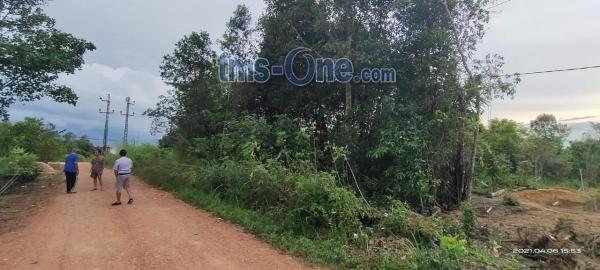 Lahan Kosong 1700-m2 Strategis Cocok untuk Kos-Kosan 1,6KM dari UBB di Balun Ijuk, Merawang - Bangka